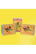 Sabonetes de mel, própolis e geléia real (3 x 100 gr.)