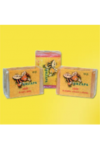Jabones de miel, de propóleos y de jalea real (3 x 100 gr.)