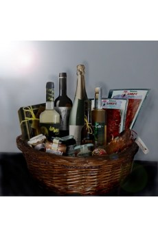 Extra top Christmas basket