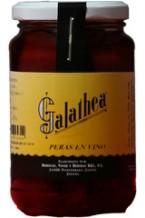 Galathea pears in wine 360 gr.
