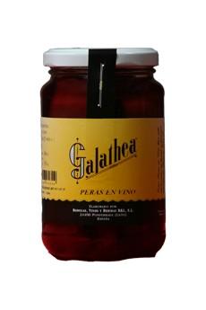 Galathea poires au vin 360 gr.