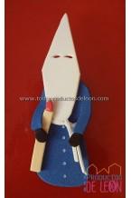 Papón Leonés azul y blanco
