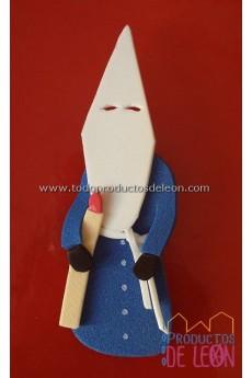 Papón Leonés Blu e bianco