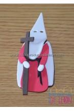 Papón Leonés Rouge, blanc et noir