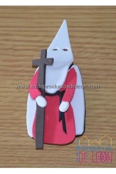Papón Leonés Vermelho, branco e preto