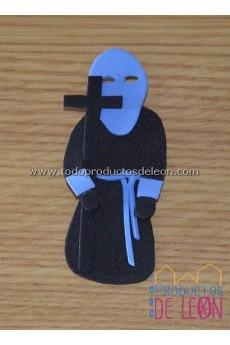 Papón Leonés negro y azul